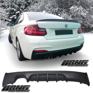 BMW 2 SERIES F22 F23 TWIN DIFFUSER