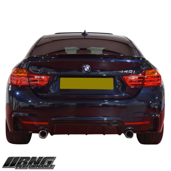 BMW F32 F33 F36 DUAL REAR DIFFUSER