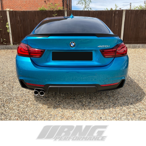 MATTE GRADE 2 BMW 4 SERIES F32 PERFORMANCE STYLE KIT + GRILLS