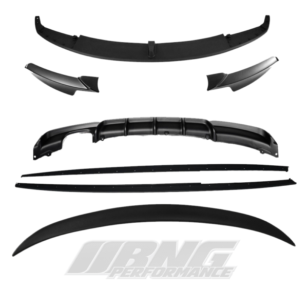 MATTE GRADE 2 BMW 3 SERIES M PERFORMANCE STYLE KIT WITH BOOT