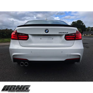 BMW F30 BOOT SPOILER