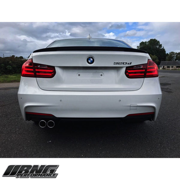 BMW 3 SERIES F30 F31 TWIN DIFFUSER