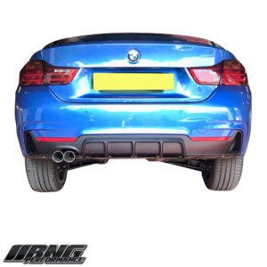 BMW F32 F33 F36 TWIN REAR DIFFUSER